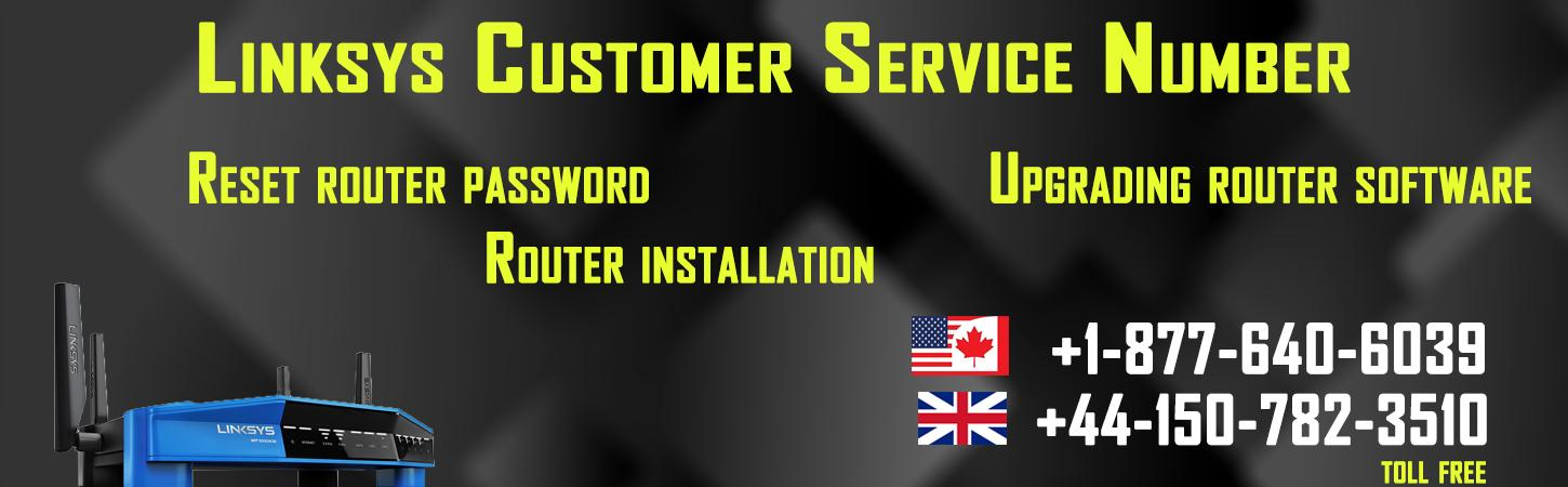 Linksys router customer service | Tech support phone number