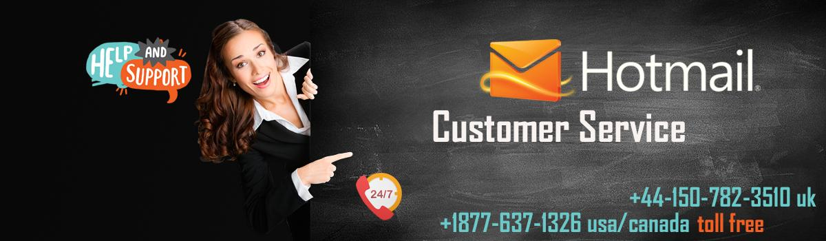 Get Hotmail customer service at toll-free helpline number