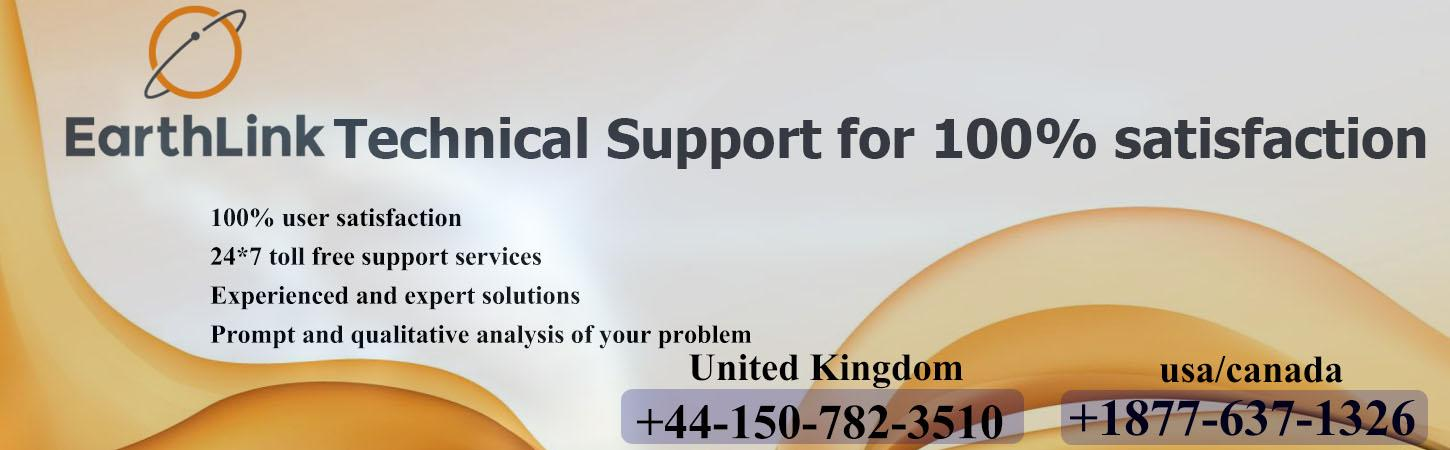 EarthLink Technical Support for 100% satisfaction