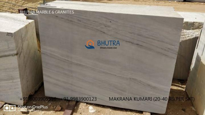 Makrana White Marble Supplier Flooring Bhutra Marble and Granit