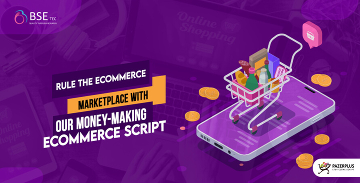 Rule the eCommerce Marketplace with our Money Making eCommerce S
