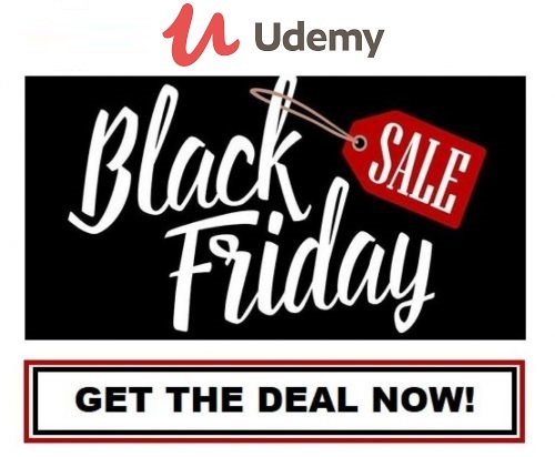 Udemy Black Friday Sale 2020 & Discount Deals [Up to 95% Off]
