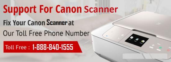 Canon Scanner Support Number +1-888-840-1555