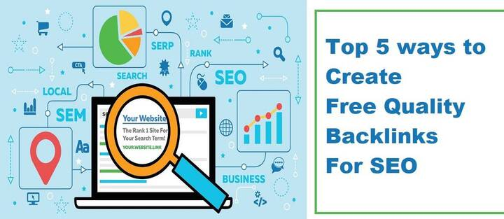 Top 5 ways to Create Free Quality Backlinks For SEO in 2020 - DW