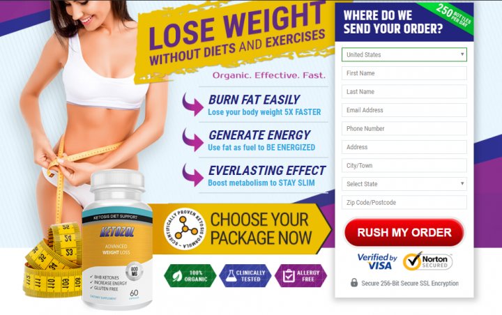 Ketozol Reviews: Wanna Burn Belly Fat Without Exercise? Try Keto