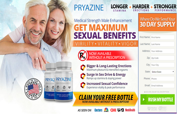 Pryazine Male Enhancement Reviews- Does It Really Work Or Not?