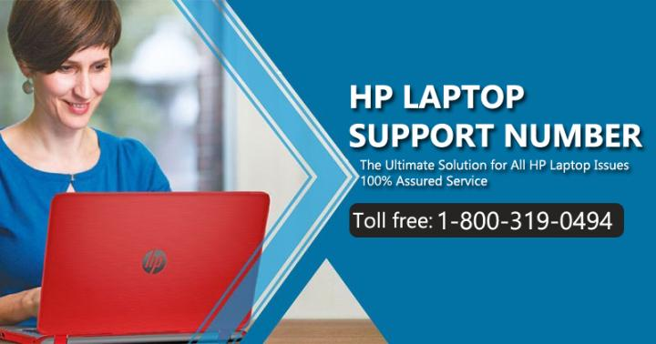 HP Laptop Support Phone Number  1-800-319-0494