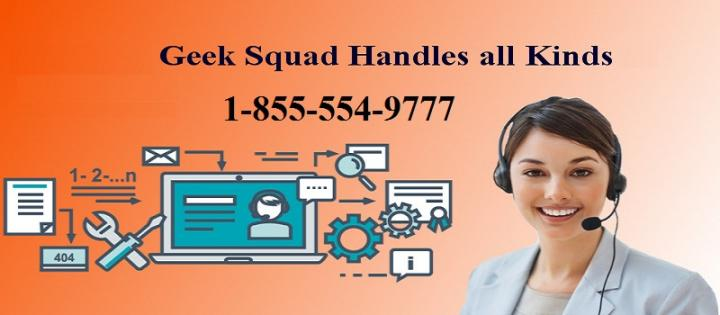 How to Scheduling Geek Squad Service & Support | Call 1-855-554-