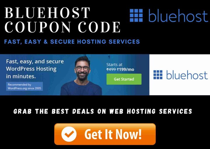 BlueHost Coupon Code 2020 For WordPress Website Hosting Services