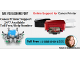 Canon Support Toll free Number +1-888-840-1555 Printer Helpline