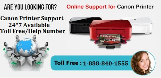 Canon Support Toll free Number +1-888-840-1555