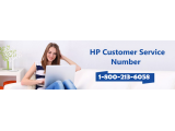 HP Customer Support Phone Number 1-800-213-6058 for Online Troub