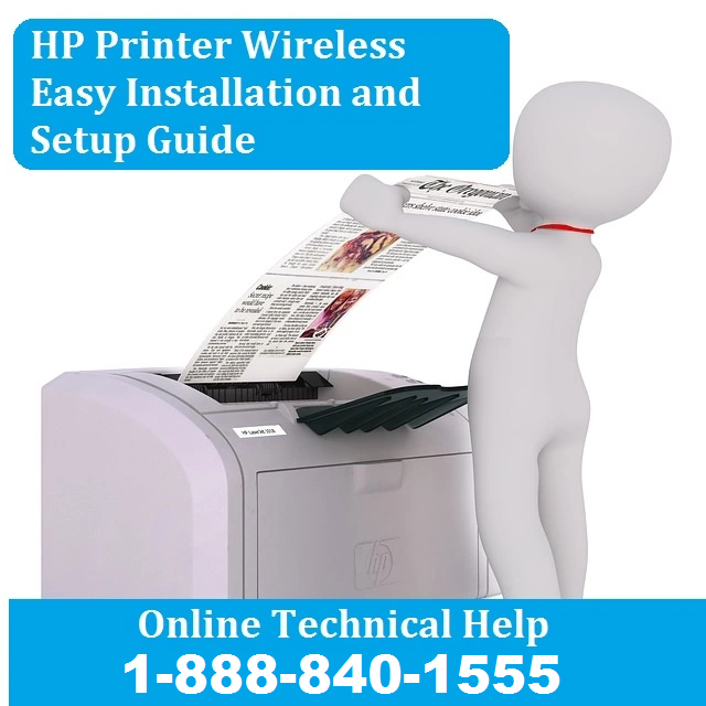 HP Printer Wireless Easy Installation and Setup Guide