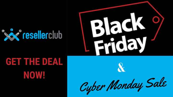 60% Off ResellerClub Black Friday Deals & Cyber Monday Sale 2020
