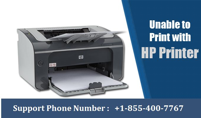 HP Printer Stopped Printing ? HP Support Phone Number 1-855-400-